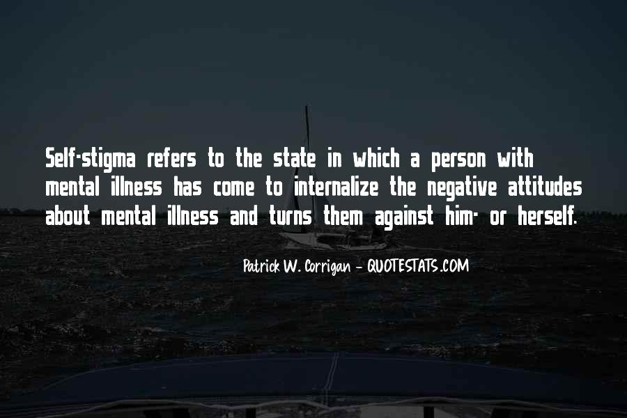 Quotes About Stigma Of Mental Illness #915361