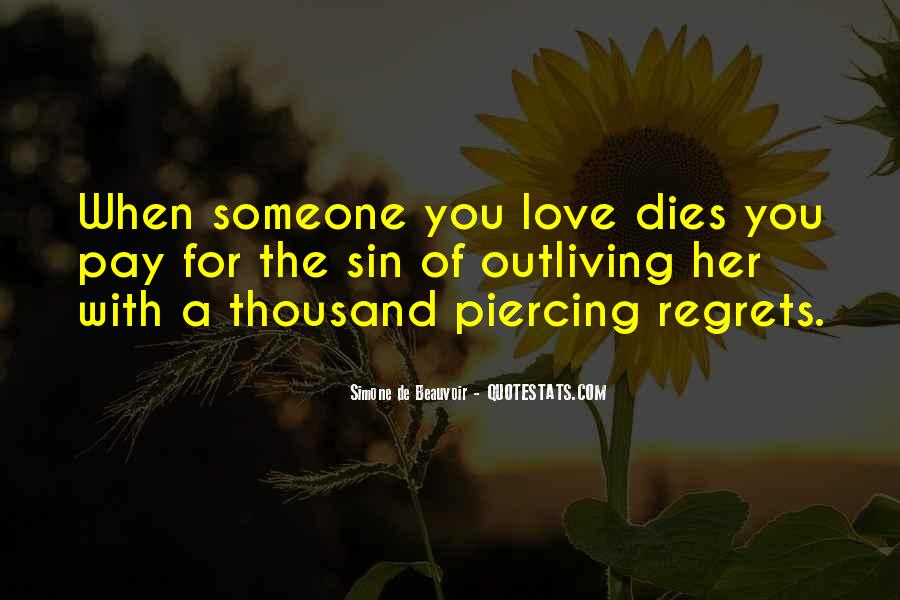 Quotes About Someone You Love Dies #1114308