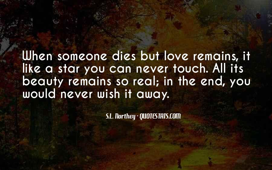 Quotes About Someone You Love Dies #1414037