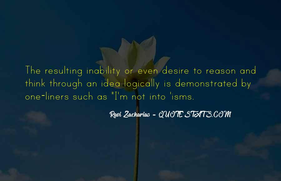 Quotes About Inability #113143