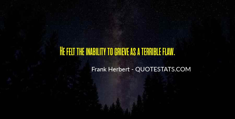 Quotes About Inability #119393