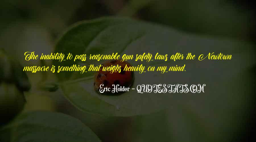 Quotes About Inability #142231