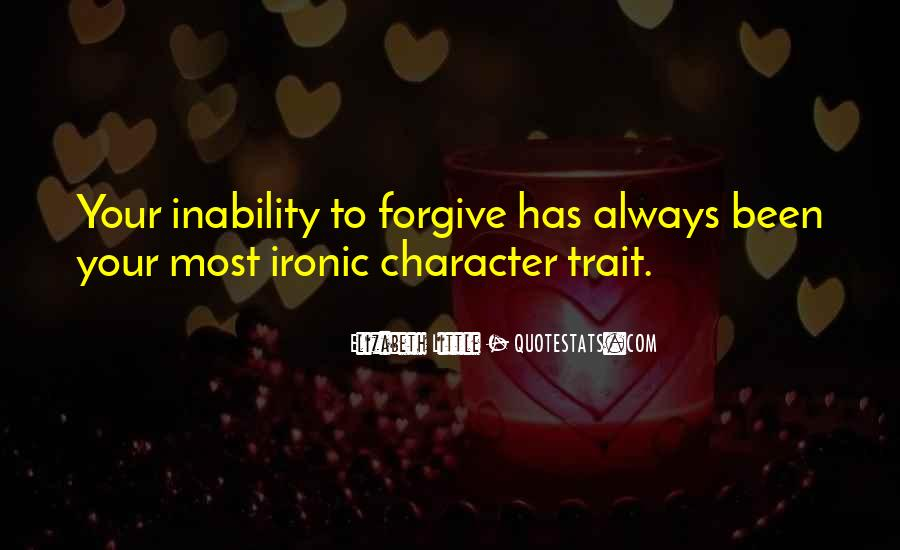 Quotes About Inability #171207