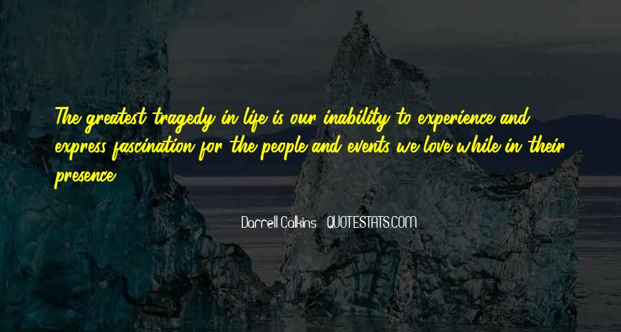 Quotes About Inability #17187