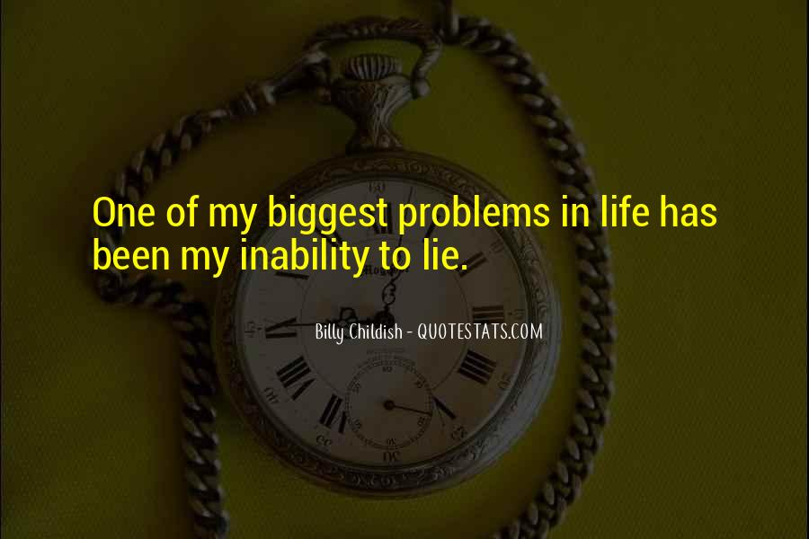 Quotes About Inability #188011