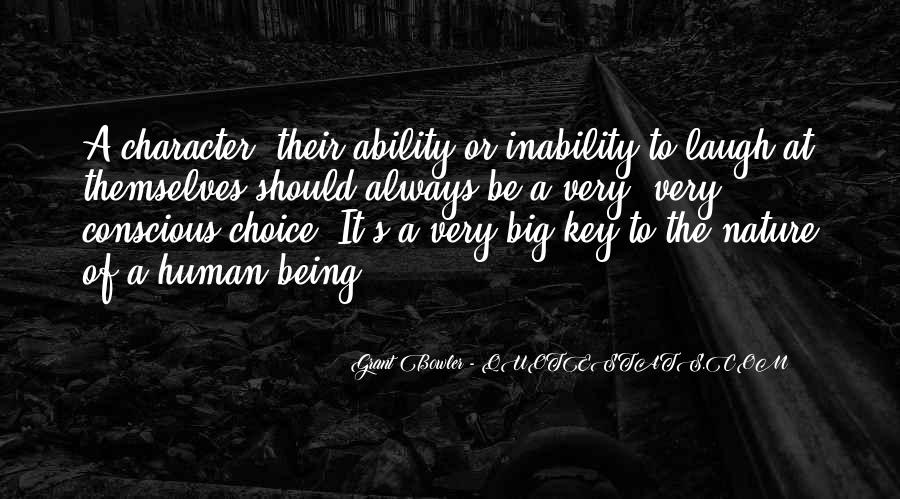 Quotes About Inability #210656