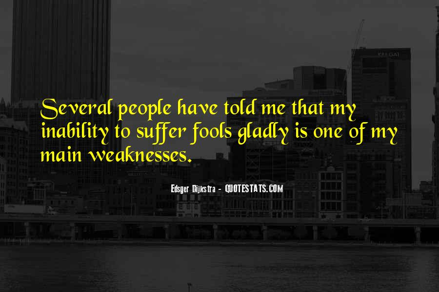 Quotes About Inability #22227
