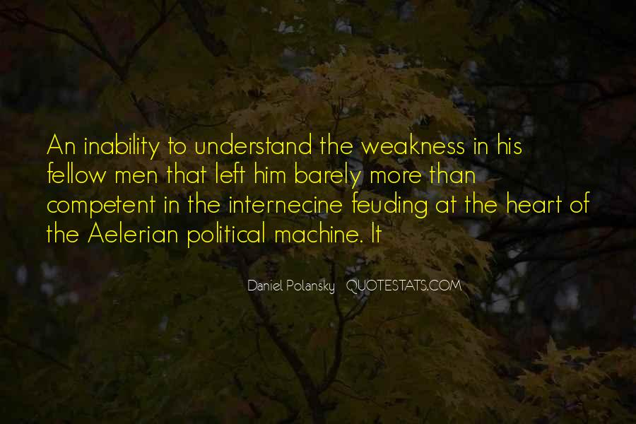 Quotes About Inability #261611