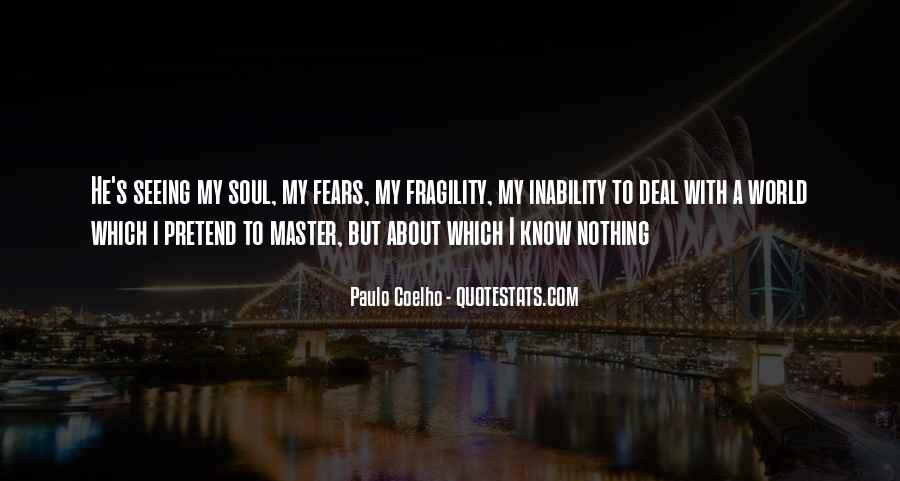 Quotes About Inability #27066