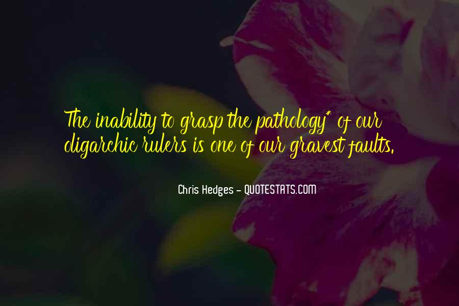 Quotes About Inability #277973