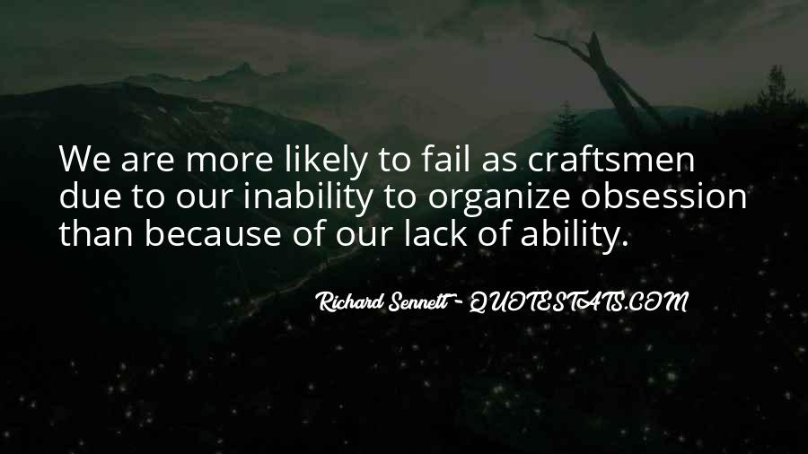 Quotes About Inability #32288