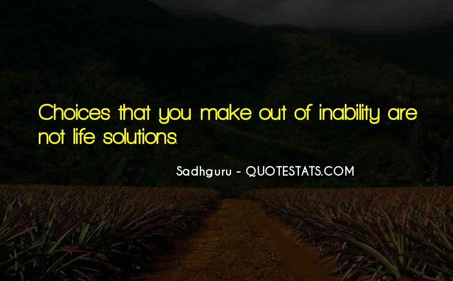 Quotes About Inability #47587