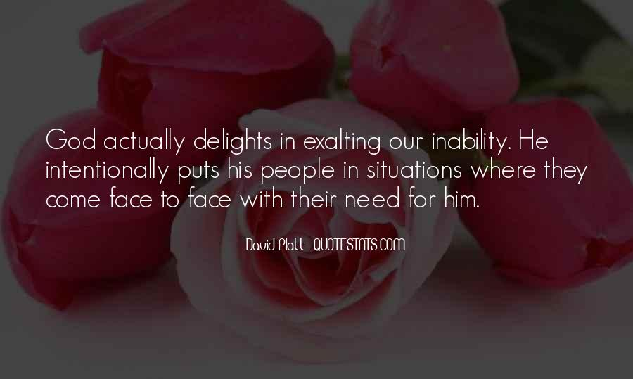 Quotes About Inability #710