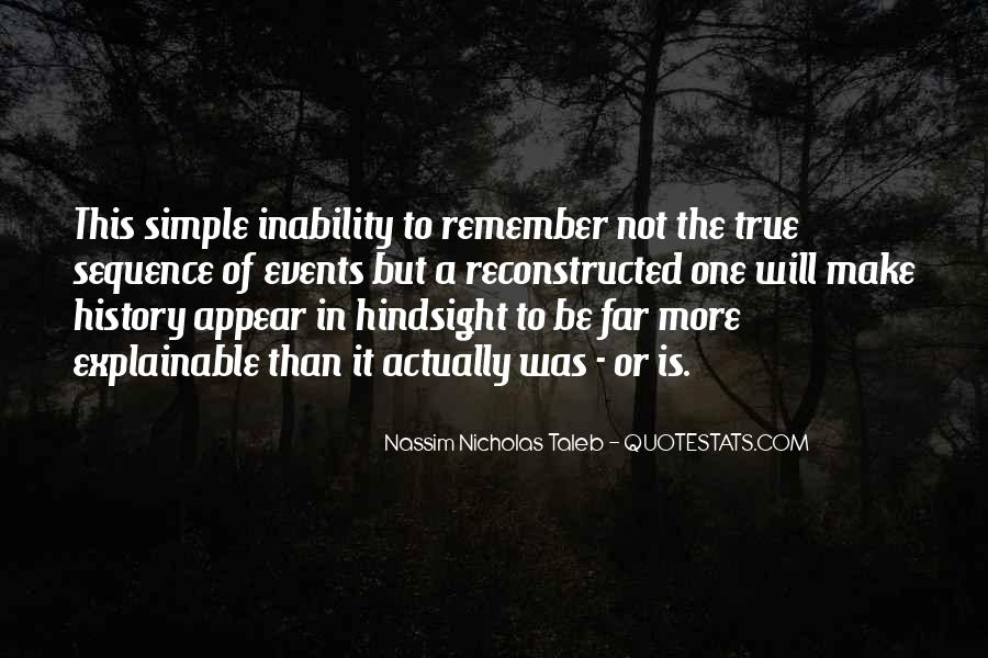 Quotes About Inability #79272