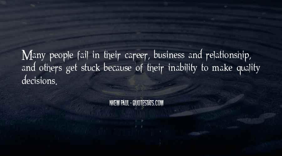 Quotes About Inability #98990