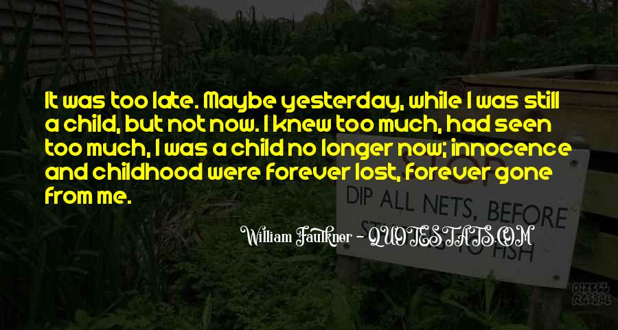 Quotes About Childhood And Growing Up #202250
