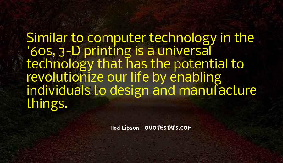 Quotes About Universal Design #1451380