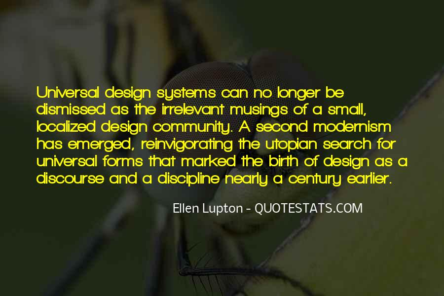 Quotes About Universal Design #16286