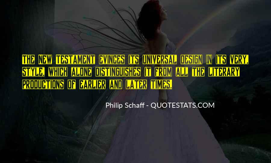 Quotes About Universal Design #1716014