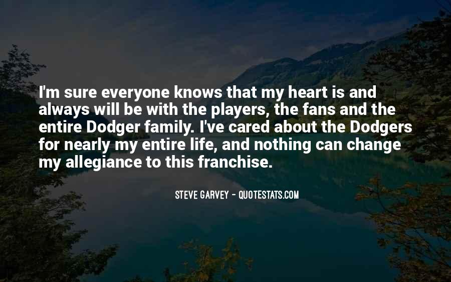 Quotes About Dodgers #1060580
