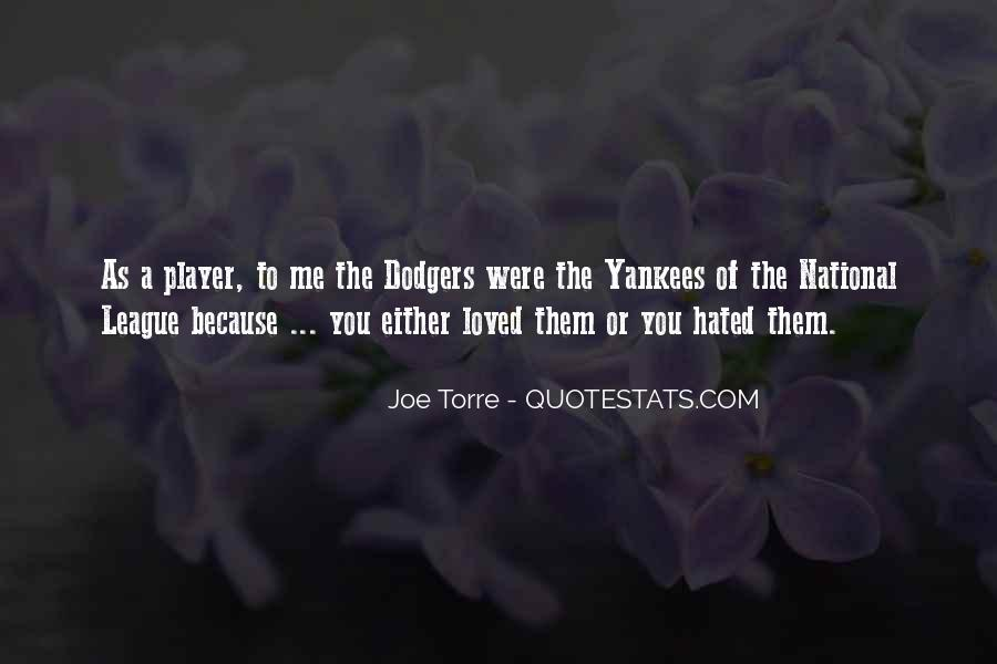 Quotes About Dodgers #1086164