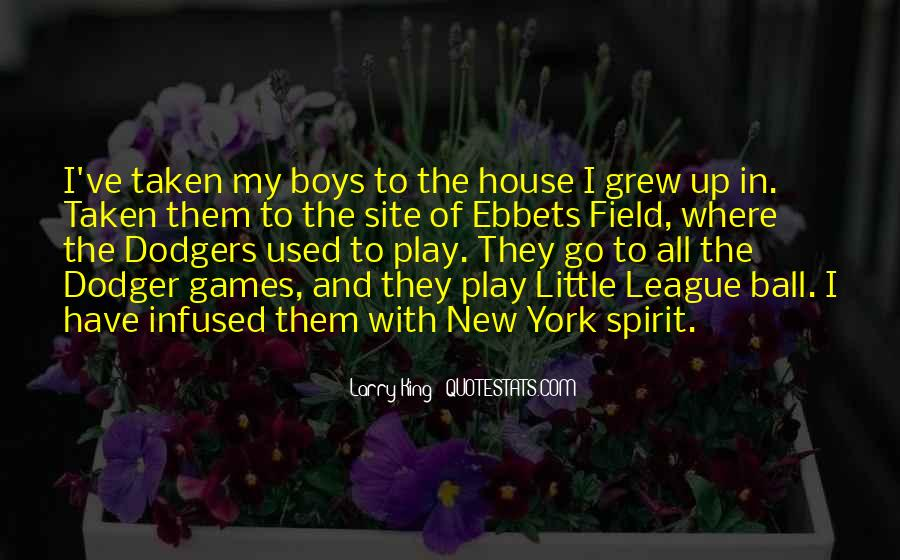 Quotes About Dodgers #1218577