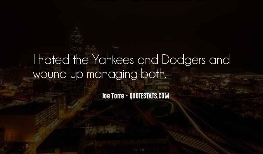 Quotes About Dodgers #1301018