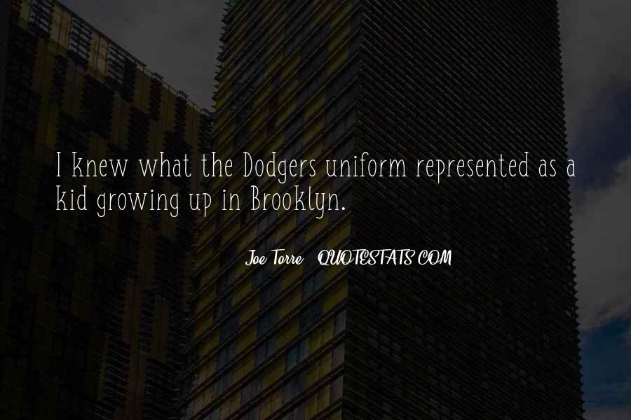 Quotes About Dodgers #134156
