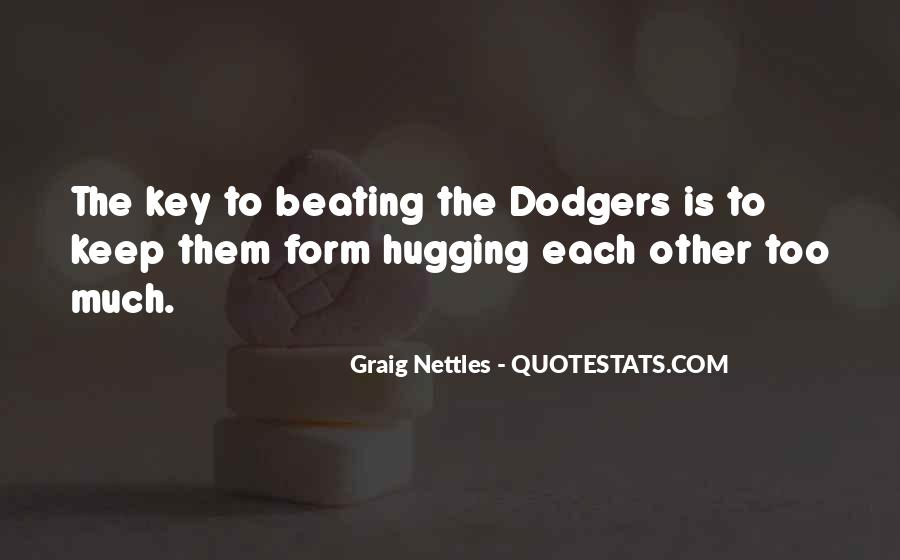 Quotes About Dodgers #1356