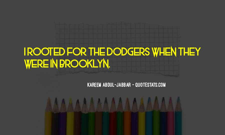 Quotes About Dodgers #1392185