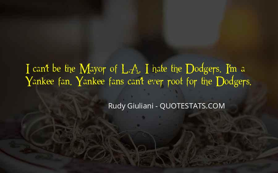 Quotes About Dodgers #437297