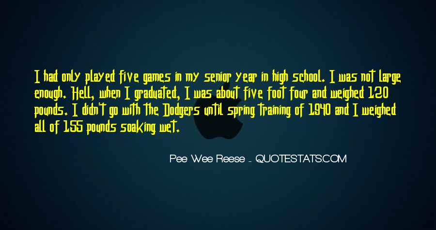 Quotes About Dodgers #763269