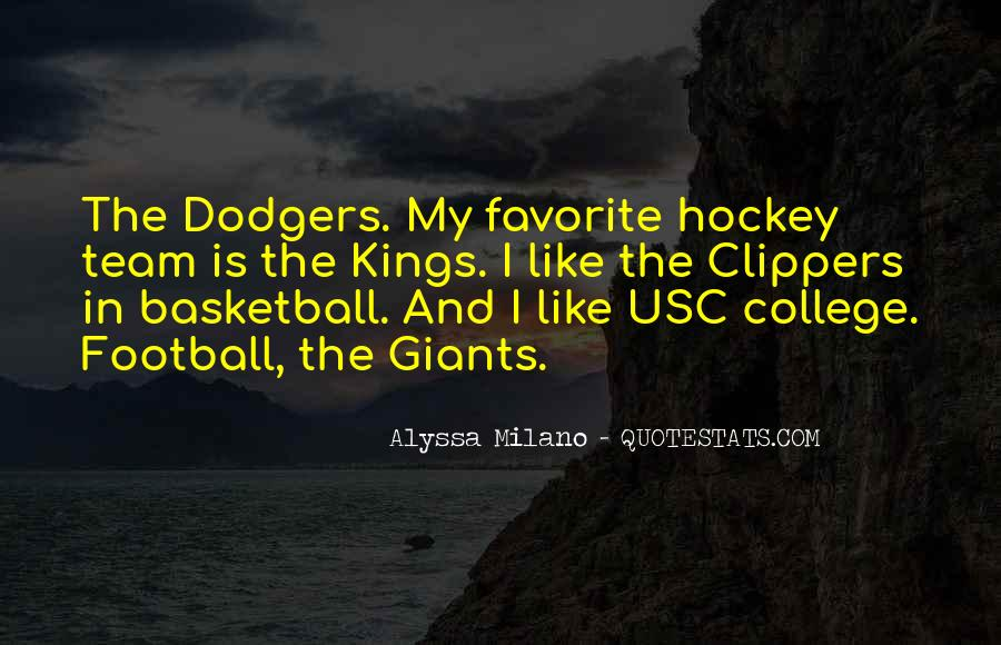 Quotes About Dodgers #839337
