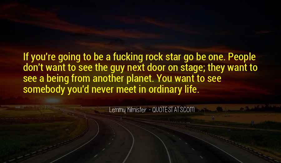 Quotes About Rockstar Life #1231836