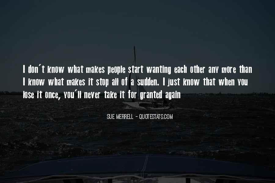 Quotes About Just Wanting Love #1419266