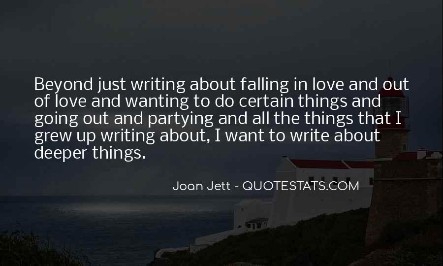 Quotes About Just Wanting Love #1541614