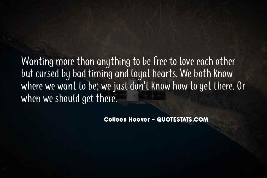 Quotes About Just Wanting Love #1639088