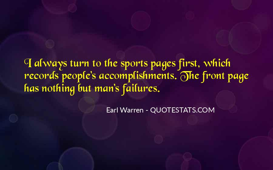 Quotes About Accomplishments In Sports #1479323