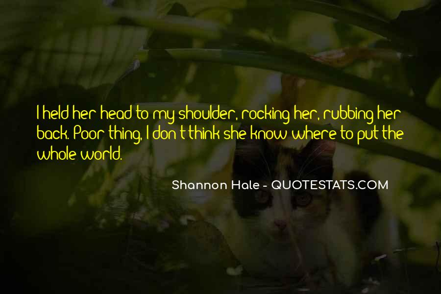 Quotes About Rocking Your World #1616567