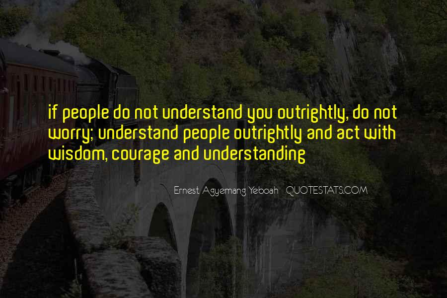 Quotes About Others Not Understanding You #456100