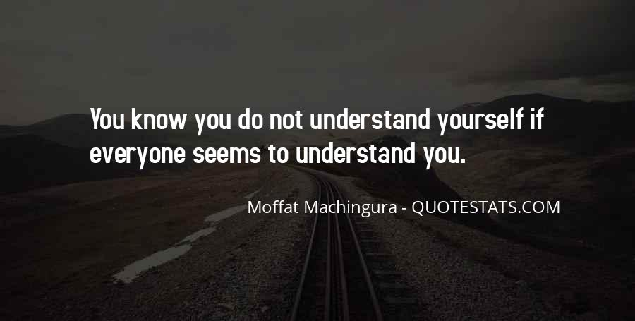 Quotes About Others Not Understanding You #464409