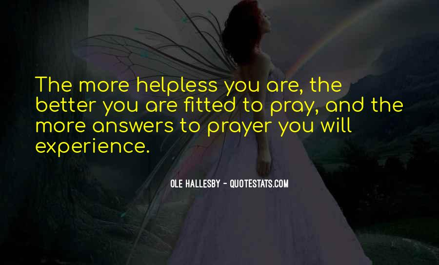 Quotes About Answers #12088