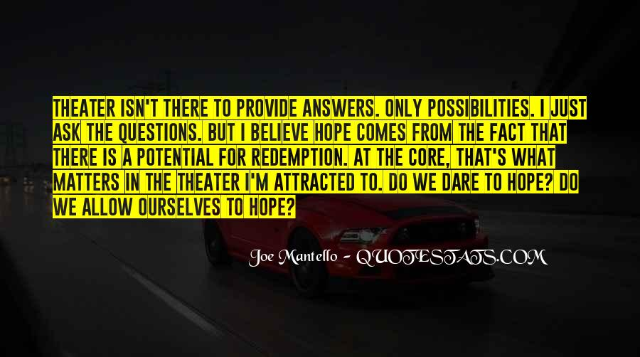 Quotes About Answers #1458