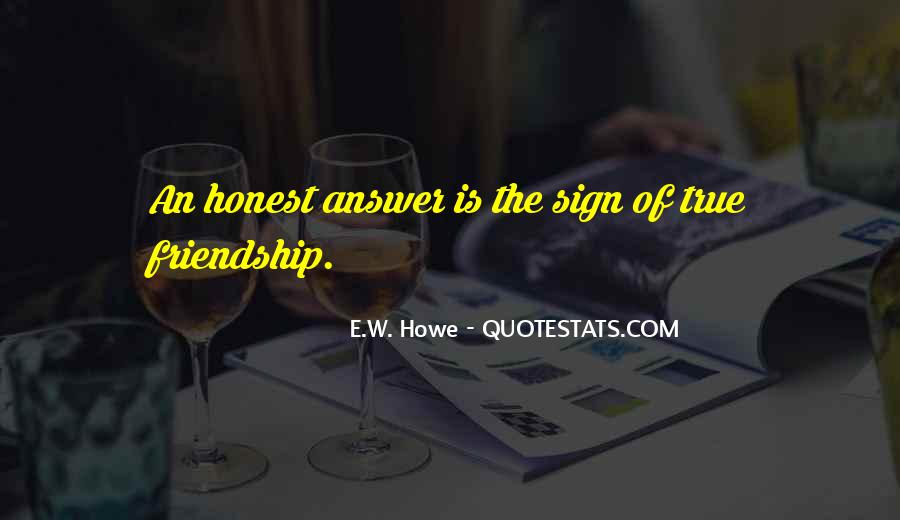 Quotes About Answers #16768