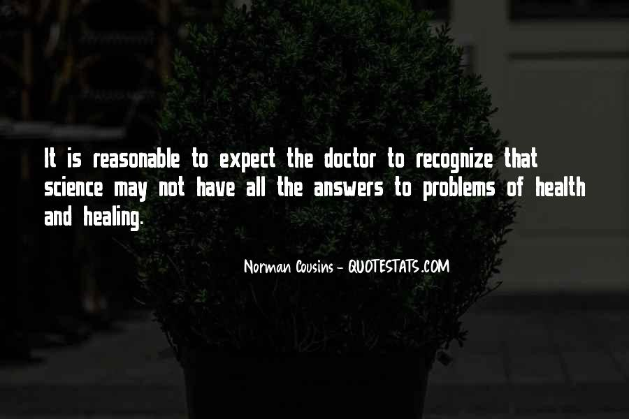 Quotes About Answers #22889