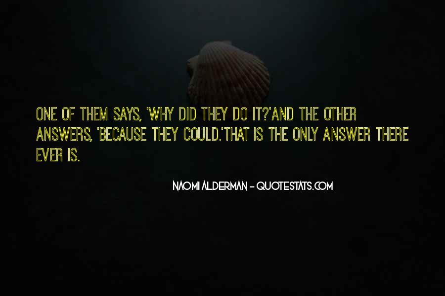 Quotes About Answers #23012