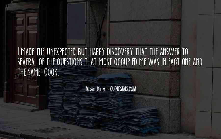 Quotes About Answers #25251
