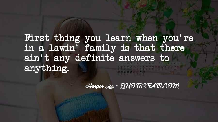 Quotes About Answers #25931