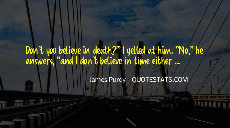 Quotes About Answers #29816