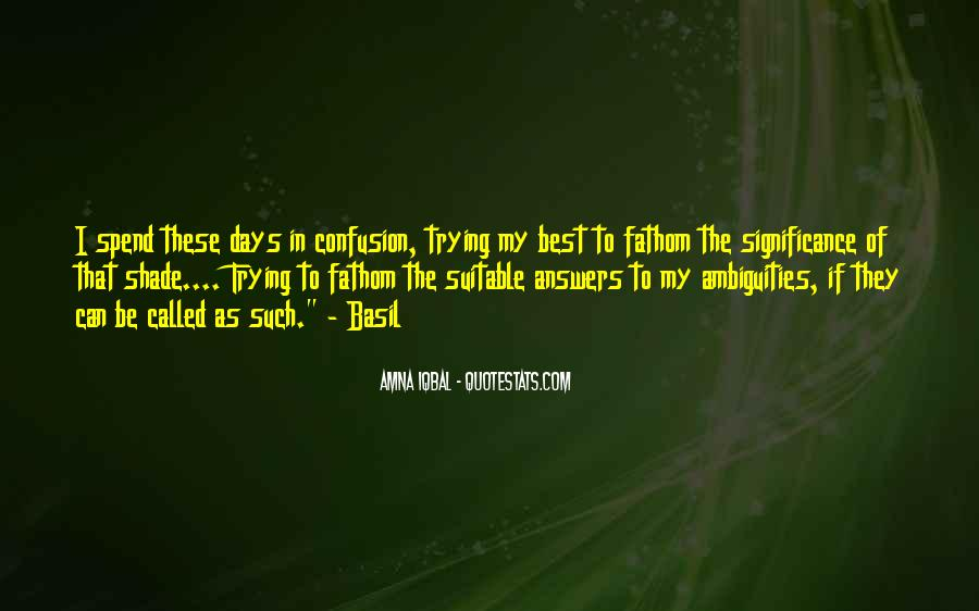 Quotes About Answers #30006
